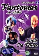 Fantômas se dèchaîne - Czech DVD cover (xs thumbnail)