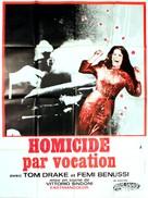 Omicidio per vocazione - French Movie Poster (xs thumbnail)