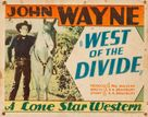 West of the Divide - Movie Poster (xs thumbnail)