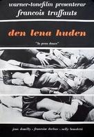 La peau douce - Swedish Movie Poster (xs thumbnail)