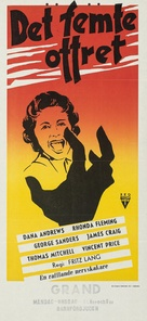 While the City Sleeps - Swedish Movie Poster (xs thumbnail)