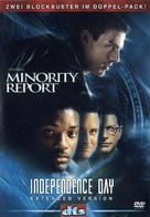 Independence Day - German DVD movie cover (xs thumbnail)