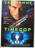 Timecop - Swedish Movie Poster (xs thumbnail)