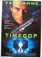 Timecop - Swedish Movie Poster (xs thumbnail)