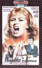 Angélique et le roy - Finnish VHS movie cover (xs thumbnail)
