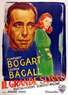 The Big Sleep - Italian Movie Poster (xs thumbnail)