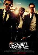 The Hangover Part III - Ukrainian Movie Poster (xs thumbnail)