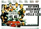 The Cannonball Run - German Movie Poster (xs thumbnail)