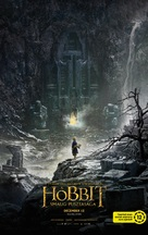 The Hobbit: The Desolation of Smaug - Hungarian Movie Poster (xs thumbnail)
