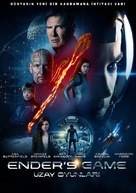 Ender's Game - Turkish DVD movie cover (xs thumbnail)