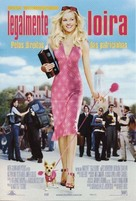 Legally Blonde - Brazilian Movie Poster (xs thumbnail)