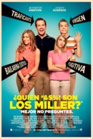 We're the Millers - Mexican Movie Poster (xs thumbnail)