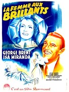 Adventure in Diamonds - French Movie Poster (xs thumbnail)