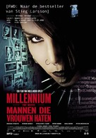 Män som hatar kvinnor - Dutch Movie Poster (xs thumbnail)