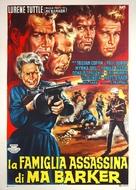 Ma Barker's Killer Brood - Italian Movie Poster (xs thumbnail)