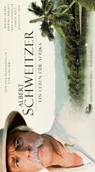 Albert Schweitzer - Swiss Movie Poster (xs thumbnail)