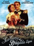 The Charge of the Light Brigade - Spanish Movie Cover (xs thumbnail)