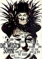 Sons of the Desert - German Movie Poster (xs thumbnail)