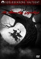 Sleepy Hollow - Hungarian Movie Cover (xs thumbnail)