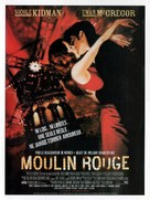 Moulin Rouge - French Movie Poster (xs thumbnail)