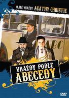 """Les petits meurtres d'Agatha Christie"" - Czech DVD cover (xs thumbnail)"