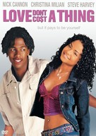 Love Don't Cost A Thing - DVD cover (xs thumbnail)