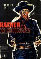 Ten Wanted Men - German Movie Poster (xs thumbnail)