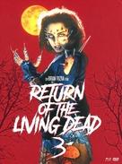 Return of the Living Dead III - German Blu-Ray cover (xs thumbnail)