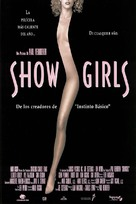 Showgirls - Spanish Movie Poster (xs thumbnail)