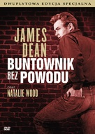 Rebel Without a Cause - Polish DVD movie cover (xs thumbnail)