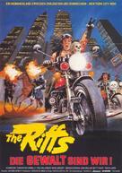 1990: I guerrieri del Bronx - German Movie Poster (xs thumbnail)