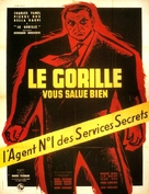 Le gorille vous salue bien - French Movie Poster (xs thumbnail)