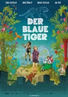 Modrý tygr - German Movie Poster (xs thumbnail)