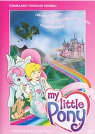 My Little Pony: The Movie - Finnish DVD movie cover (xs thumbnail)