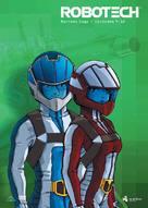 """Robotech"" - Danish DVD cover (xs thumbnail)"