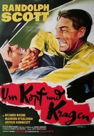 The Tall T - German Movie Poster (xs thumbnail)