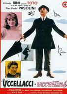 Uccellacci e uccellini - French Movie Poster (xs thumbnail)
