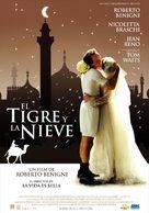 Tigre e la neve, La - Uruguayan Movie Poster (xs thumbnail)