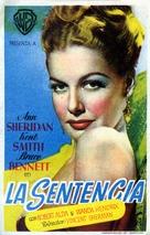 Nora Prentiss - Spanish Movie Poster (xs thumbnail)