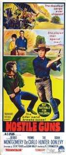 Hostile Guns - Australian Movie Poster (xs thumbnail)
