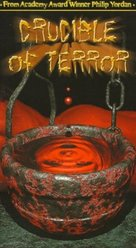 Crucible of Terror - VHS cover (xs thumbnail)