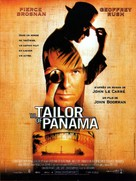 The Tailor of Panama - French Movie Poster (xs thumbnail)