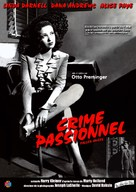Fallen Angel - French Movie Poster (xs thumbnail)
