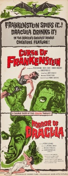 The Curse of Frankenstein - Combo movie poster (xs thumbnail)
