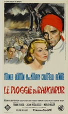 The Rains of Ranchipur - Italian Movie Poster (xs thumbnail)