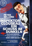 A Shot in the Dark - German Movie Poster (xs thumbnail)