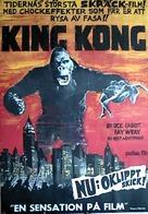 King Kong - Swedish Movie Poster (xs thumbnail)
