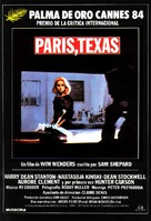 Paris, Texas - Spanish Movie Poster (xs thumbnail)
