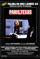 Paris, Texas - Spanish Movie Poster (xs thumbnail)