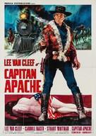 Captain Apache - Italian Movie Poster (xs thumbnail)